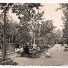 Postales: HUESCA - PARQUE - PASEO CENTRAL - Nº25 EDICIONES SICILIA. Lote 183765607