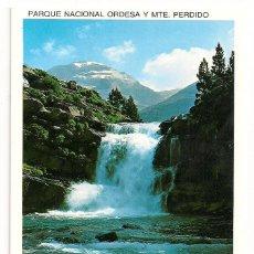 Postales: TORLA - PIRINEO ARAGONES - PARQUE NACIONAL DE ORDESA - GRADAS DE SOASO - Nº104 EDICIONES SICILIA. Lote 135728003