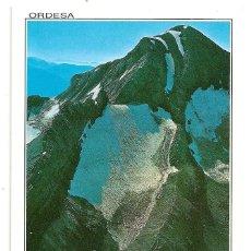 Postales: HUESCA - PARQUE NACIONAL DE ORDESA - MONTE PERDIDO Y LAGO HELADO - Nº135 EDICIONES SICILIA. Lote 135736915