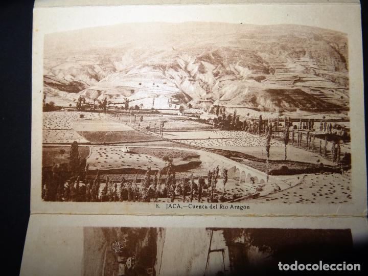 Postales: Jaca, 4 antiguas postales plegadas en acordeón sin circular. Ver fotografías - Foto 2 - 136270770