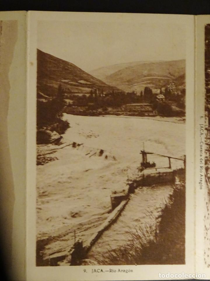 Postales: Jaca, 4 antiguas postales plegadas en acordeón sin circular. Ver fotografías - Foto 4 - 136270770