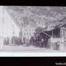 Postales: PANTICOSA, HUESCA - CLICHE ORIGINAL - NEGATIVO EN CELULOIDE - 1900-1920 -FOTOTIP. THOMAS, BARCELONA. Lote 137700114
