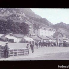 Postales: PANTICOSA, HUESCA - CLICHE ORIGINAL - NEGATIVO EN CELULOIDE - 1900-1920 -FOTOTIP. THOMAS, BARCELONA. Lote 137700202