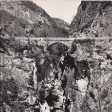 Postkarten - balneario de panticosa, puente de escarrilla sobre el rio gallego - 138069818
