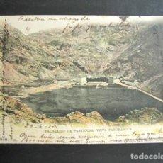 Postales: POSTAL HUESCA. BALNEARIO DE PANTICOSA. VISTA PANORÁMICA. PRIMERA EDICIÓN. CIRCULADA. AÑO 1905. . Lote 138556570