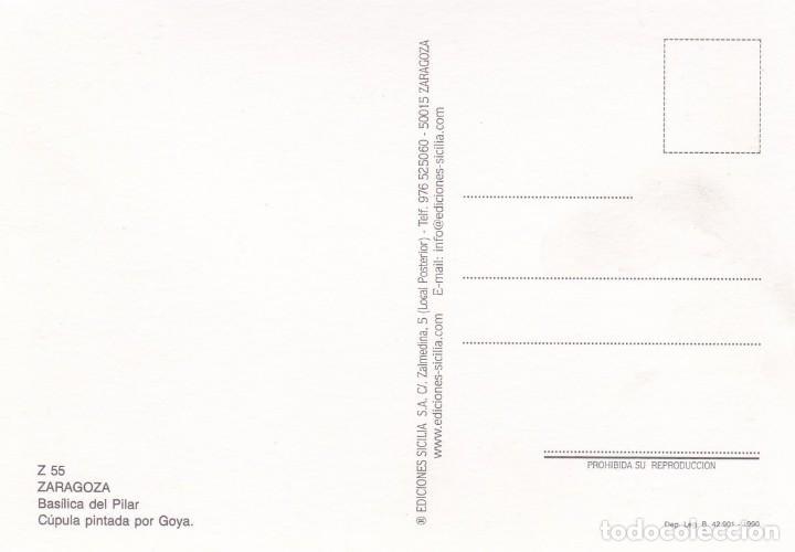 Postales: POSTAL BASILICA DEL PILAR. ZARAGOZA - Foto 2 - 139124078