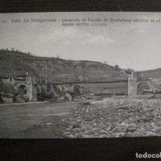 CATALANA DE GAS-169-PUENTE DE MONTAÑANA-OBRAS SALTO DEL RUN-HUESCA-POSTAL ANTIGUA-(53.894)