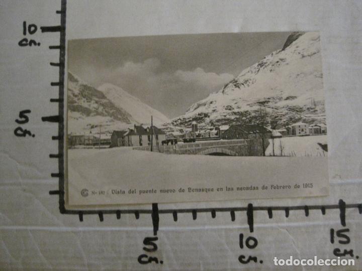 Postales: CATALANA DE GAS-182-PUENTE NUEVO BENASQUE-OBRAS SALTO DEL RUN-HUESCA-POSTAL ANTIGUA-(53.907) - Foto 5 - 139204634