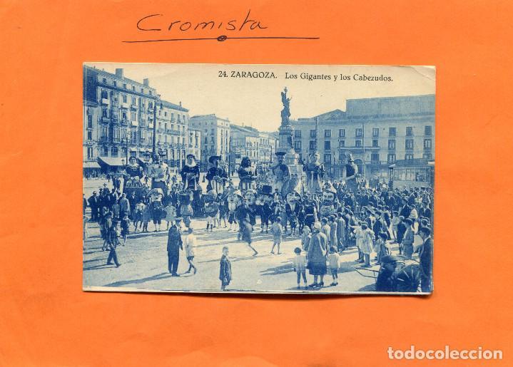 ZARAGOZA ( GIGANTES Y CABEZUDOS ) -- NO CIRCULADA --- (EXTR2018) (Postales - España - Aragón Antigua (hasta 1939))