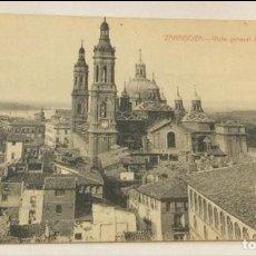 Postales: POSTAL ZARAGOZA VISTA GENERAL DEL PILAR. Lote 139819346