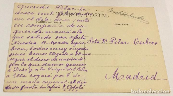 Postales: Postal Zaragoza Vista general del Pilar - Foto 2 - 139819346