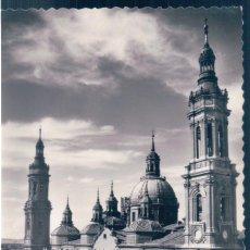 Postales: POSTAL ZARAGOZA - TEMPLO METROPOLITANO DE NTRA SRA DEL PILAR - SICILIA 33. Lote 139944090