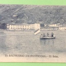 Postales: POSTAL N°10 BALNEARIO DE PANTICOSA EL IBON . Lote 139957258