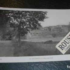 Postales: CAPELLA - ( HUESCA ) LA ARBOLEDA Y VISTA PARCIAL - 14X9 CM. POSTAL CIRCULADA . Lote 140144370