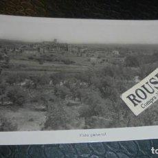 Postales: CAPELLA - ( HUESCA ) VISTA GENERAL - 14X9 CM. POSTAL CIRCULADA . Lote 140144558