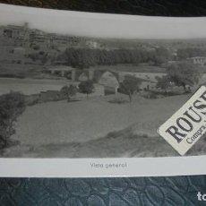 Postales: CAPELLA - ( HUESCA ) VISTA GENERAL - 14X9 CM. POSTAL CIRCULADA . Lote 140144818