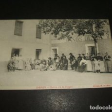 Postales: JARABA ZARAGOZA BALNEARIO SICILIA BAÑOS DE LA VIRGEN. Lote 140163118