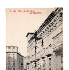 Postcards - ZARAGOZA.- LA AUDIENCIA. - 140510806