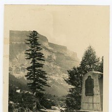 Postales: ORDESA ENTRADA Y MONUMENTO A LUCIEN DE BRIET - SIN CIRCULAR. Lote 140688138