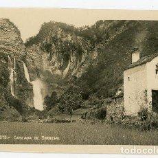 Postales: BROTO CASCADA DE SORROSAL - SIN CIRCULAR. Lote 140688434