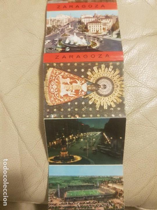 Postales: LIBRO DE POSTALES (DESPLEGABLE, LOTE DE 16 UNIDADES), DE ZARAGOZA, AÑOS 60. - Foto 2 - 140804110