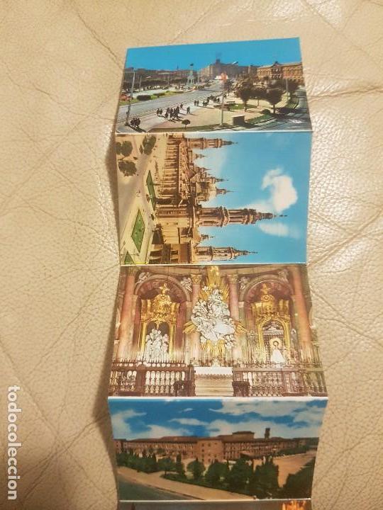 Postales: LIBRO DE POSTALES (DESPLEGABLE, LOTE DE 16 UNIDADES), DE ZARAGOZA, AÑOS 60. - Foto 4 - 140804110