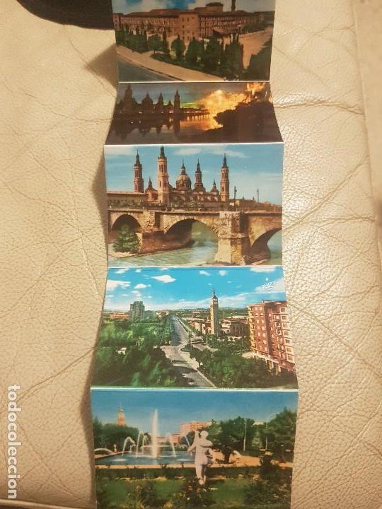 Postales: LIBRO DE POSTALES (DESPLEGABLE, LOTE DE 16 UNIDADES), DE ZARAGOZA, AÑOS 60. - Foto 5 - 140804110