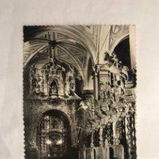 Postales - CALATAYUD (Zaragoza) Postal No.31, Detalle del Coro y Altar de Nuestra Señora de los Dolores. - 140953025