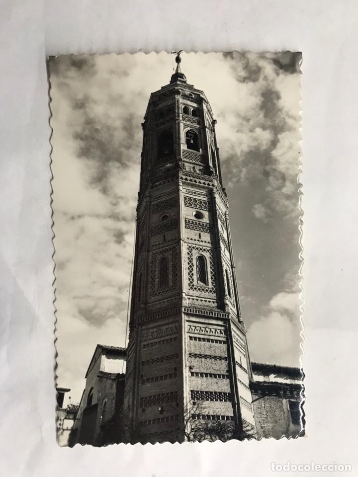 CALATAYUD (ZARAGOZA) POSTAL NO.13, TORRE DE SAN ANDRES. EDITA: EDICIONES SICILIA (H.1950?) (Postales - España - Aragón Moderna (desde 1.940))