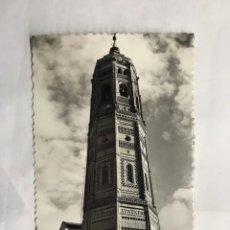 Postales: CALATAYUD (ZARAGOZA) POSTAL NO.13, TORRE DE SAN ANDRES. EDITA: EDICIONES SICILIA (H.1950?). Lote 140953086