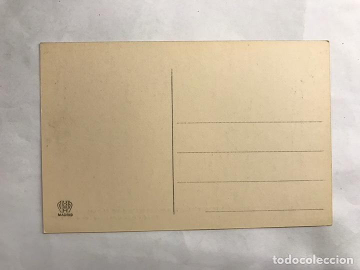 Postales: PANTANO DE LA PEÑA (Huesca) Postal Serie B-19. Viaducto de 200 mts largo y 41 mts alto (h.1910?) - Foto 2 - 140954884
