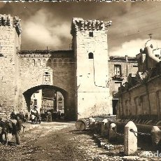 Postales: DAROCA (ZARAGOZA) - PUERTA BAJA Y FUENTE DE LOS 20 CAÑOS - EDICIONES SICILIA - MANUSCRITA. Lote 141708542