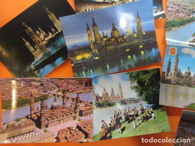 Postales: ZARAGOZA - 48 POSTALES ZARAGOZA - VARIAS CIRCULADAS 1967 Y 1973 CON SELLO - Foto 5 - 143192470