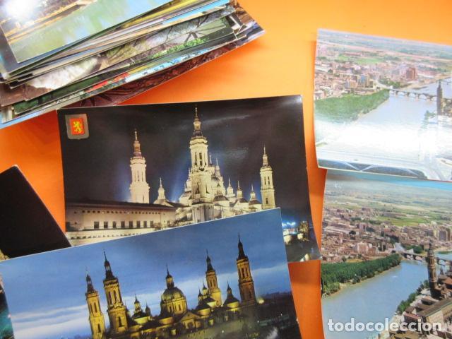 Postales: ZARAGOZA - 48 POSTALES ZARAGOZA - VARIAS CIRCULADAS 1967 Y 1973 CON SELLO - Foto 6 - 143192470