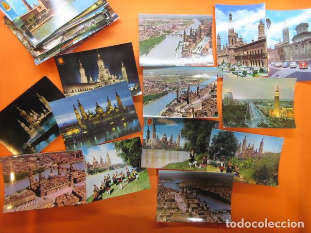 Postales: ZARAGOZA - 48 POSTALES ZARAGOZA - VARIAS CIRCULADAS 1967 Y 1973 CON SELLO - Foto 7 - 143192470