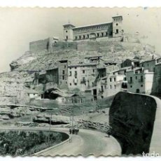 Postales: TARJETA POSTAL FOTOGRAFICA - ALCAÑIZ / CASTILLO DE LOS CALATRAVOS. Lote 143697454