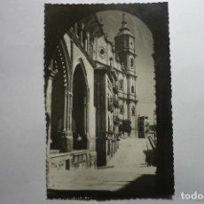 Postales: POSTAL ALCAÑIZ -RINCON LONJA Y VISTA EX-COLEGIATA -CIRCULADA CM. Lote 143817230