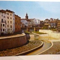 Postales: POSTAL BARBASTRO - CANALIZACION RIO VERO Y PUENTE PORTILLO. Lote 143834830