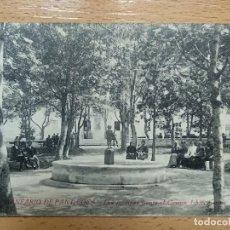 Postales: BALNEARIO DE PANTICOSA (HUESCA). LOS JARDINES FRENTE AL CASINO. Lote 144011142