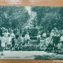 Postales: JACA, HUESCA, UNA FUENTE DEL PASEO. 3 ED. F. DE LAS HERAS.. Lote 144046438