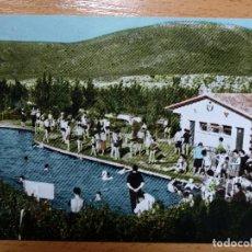 Postales: ALMUNIA DE DOÑA GODINA ZARAGOZA PARQUE MULANOYA PISCINA . Lote 144130122