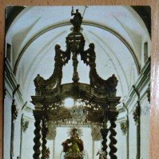 Postales: CARIÑENA. ZARAGOZA. ALTAR MAYOR, IGLESIA PARROQUIAL. Nº4. . Lote 144152218