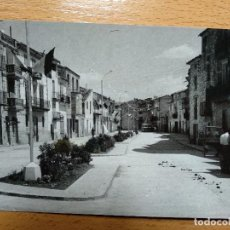 Postales: ZARAGOZA MAELLA CALLE MAYOR. POSTAL FOTOGRÁFICA. Lote 144153966