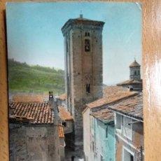 Postales: DAROCA, ZARAGOZA, TORRE MUDEJAR Y ARCO DE SANTO DOMINGO, ED. SICILIA 3.. Lote 144155730