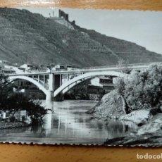 Postales: FOTO-POSTAL DE MEQUINENZA ZARAGOZA: VISTA. Lote 144903002