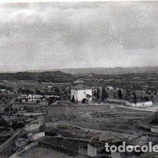 Postales: VALDEALGORFA - 2 VISTA PANORÁMICA - CAPILLA BUEN SUCESO. Lote 145241870