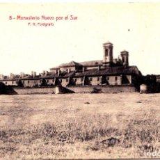 Postales: SAN JUAN DE LA PEÑA (HUESCA) - MONASTERIO NUEVO POR EL SUR. Lote 145552386