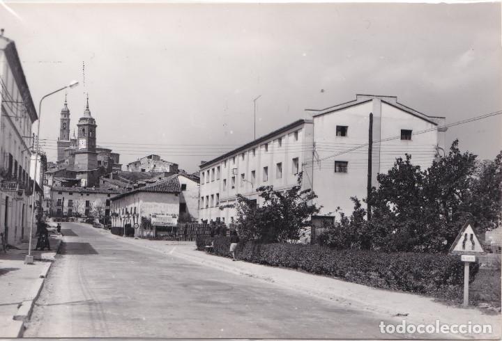 ATECA (ZARAGOZA) - AVENIDA GENERAL FRANCO (Postales - España - Aragón Moderna (desde 1.940))
