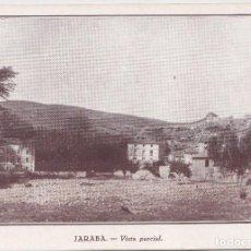 Postales: JARABA (ZARAGOZA) - VISTA PARCIAL. Lote 145780030