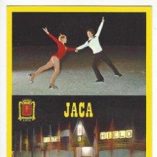 Cartoline: 39- ALTO ARAGON (HUESCA) - JACA .- PISTA DE HIELO. Lote 145988210